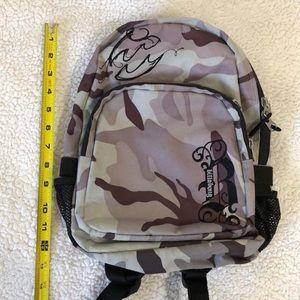 Billabong camouflage mini backpack
